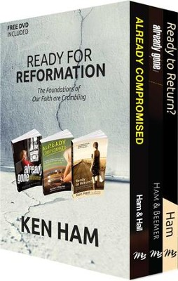 Ready for Reformation: The Foundations of Our Faith are Crumbling,  Set  -     By: Ken Ham