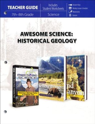 Awesome Science: Historical Geology Teacher Guide  -