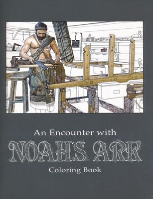 An Encounter with Noah's Ark Adult Coloring Book  -