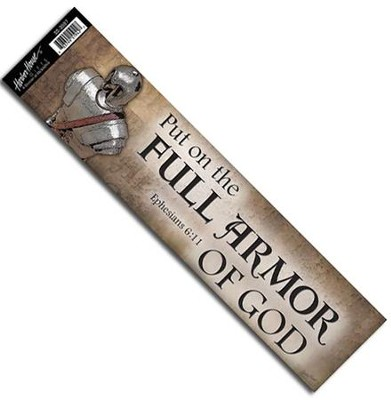 Full Armor of God Bumper Sticker  -