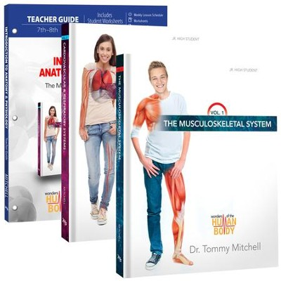 Introduction to Anatomy & Physiology Pack, 7th-8th Grade, 3 Volumes  -     By: Dr. Tommy Mitchell