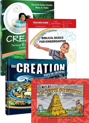 Biblical Basics Kindergarten Set  -