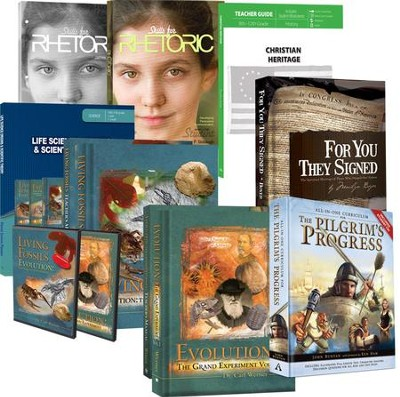 Master Books 9th Grade Curriculum Kit   -