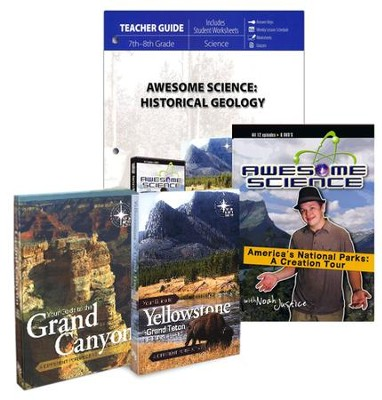 Awesome Science: Historical Geology Set   -