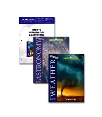 Intro to Meteorology & Astronomy Pack, 3 Volumes   -
