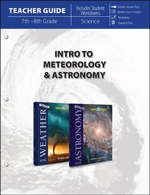 Intro to Meteorology and Astronomy Teacher Guide   -