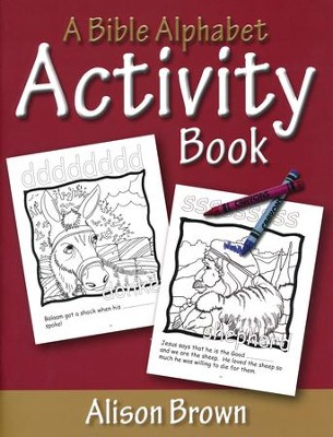 A Bible Alphabet Activity Book  -     By: Alison Brown
