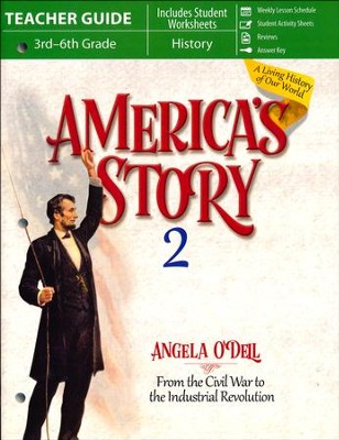 America's Story Volume 2 Teacher Guide  -     By: Angela O'Dell