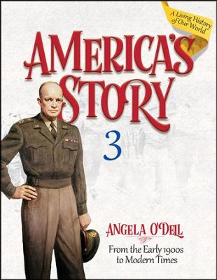 America's Story Volume 3 Student Book  -     By: Angela O'Dell