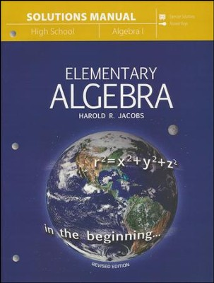 Elementary Algebra Solutions Manual  -     By: Harold Jacobs