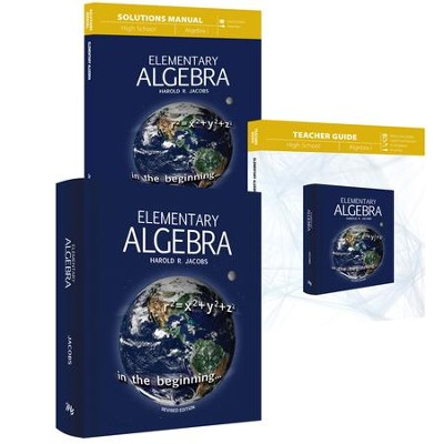 Elementary Algebra Curriculum Pack   -     By: Harold R. Jacobs