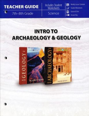 Intro to Archaeology & Geology Teacher Guide   -