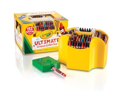 Crayola, Ultimate Crayon Case, 152 Pieces  -