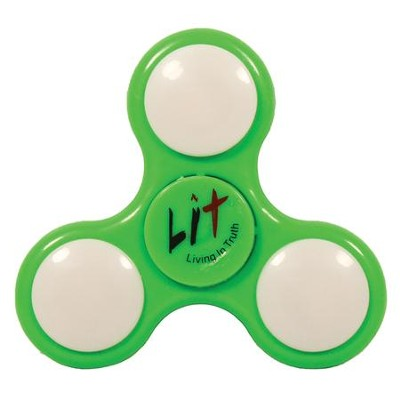 LIT, Living in Truth, LED Faith Spinner  -