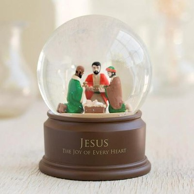 Jesus, The Joy Of Every Heart Snow Globe  -