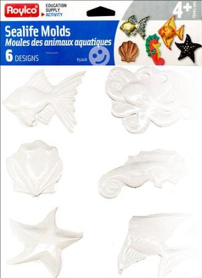 Sealife Molds (6 designs)   -