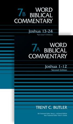 Joshua, 2 Volumes: Second Edition-WBC   -     By: Trent C. Butler, Nancy L. deClaisse-Walford