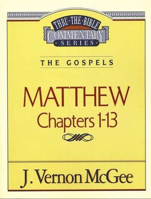 Matthew I - Thru the Bible   -     By: J. Vernon McGee