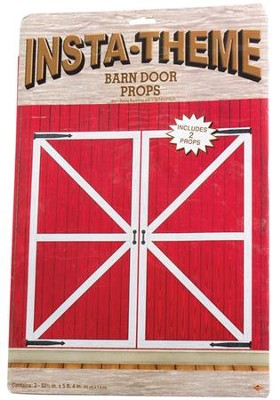 Barn Door Decorative Props  -