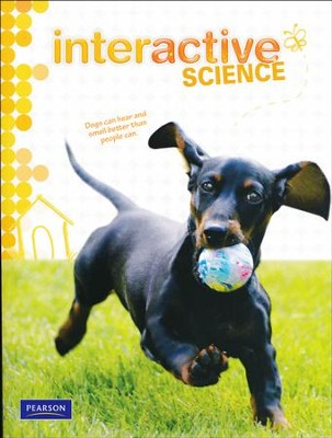 Pearson Interactive Science Grade 1 Student Workbook   -