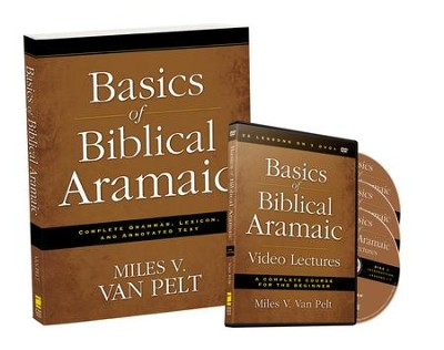 Basics of Biblical Aramaic Pack--Book and DVD   -     By: Miles V. Van Pelt
