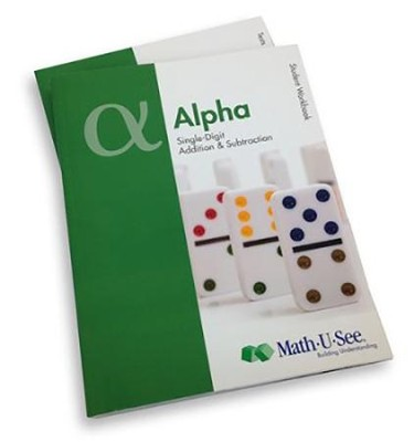 Math-U-See Alpha Student Pack (for an Additional Student)  -