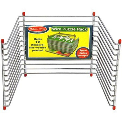 Single Wire Puzzle Rack   -     By: Melissa & Doug