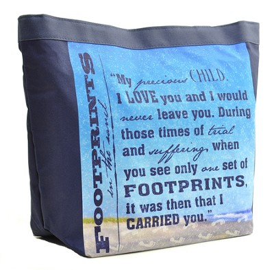 Footprints Tote Bag  -