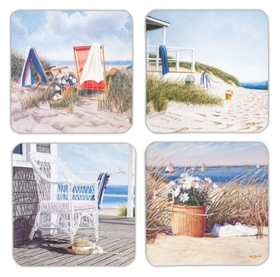 On The Coast Birthday Cards, Box of 16  -
