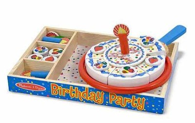 Birthday Party Play Food Set   -     By: Melissa & Doug