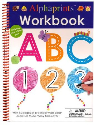 Alphaprints: Workbook ABC 123  -