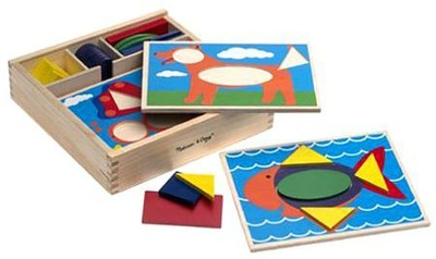 Beginner Pattern Blocks   -     By: Melissa & Doug