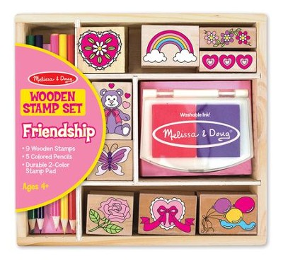 Friendship Stamp Set   -     By: Melissa & Doug