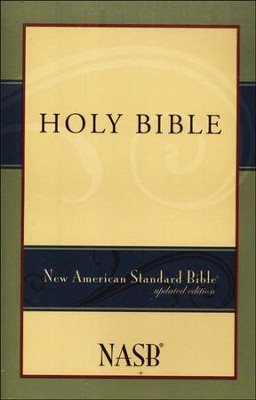 NASB Bible, Updated Edition -Slightly Imperfect   -