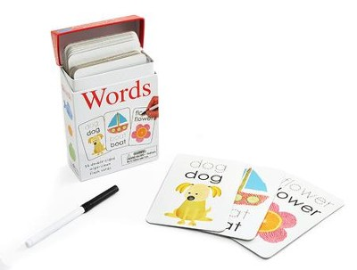 Alphaprints: Wipe Clean Flashcards Words  -