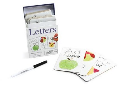Alphaprints: Wipe Clean Flashcards Letters  -