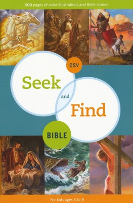 ESV Seek and Find Bible  - Slightly Imperfect  -