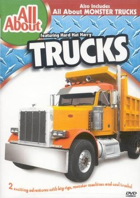 All About Trucks & Monster Trucks DVD   -