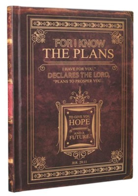 I Know the Plans, Classic Brown Journal  -