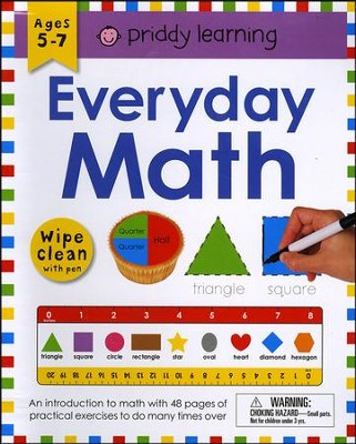 Everyday Math Wipe Clean  -