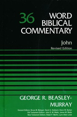 JOHN-REVISED EDITION WBC  -     By: George R. Beasley-Murray