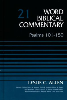 Psalms 101-150: Word Biblical Commentary [WBC]   -     By: Leslie C. Allen