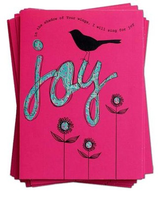 Joy, Blank Notecards   -