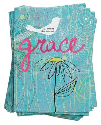 Grace, Blank Notecards  -