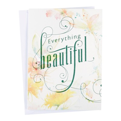 Everything Beautiful, Blank Note Cards, Box of 10    -