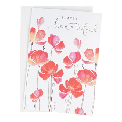 Simply Beautiful, Blank Note Cards, Box of 12    -