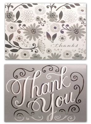 Wedding, Thank You Cards, Pack of 50  -