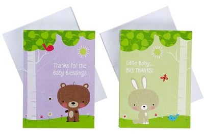 Baby, Blank Thank You Cards, Pack of 50   -