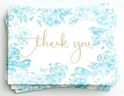 Homespun Charm, Thank You Cards  -