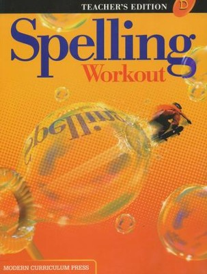 Spelling Workout 2001/2002 Level D Teacher Edition   -